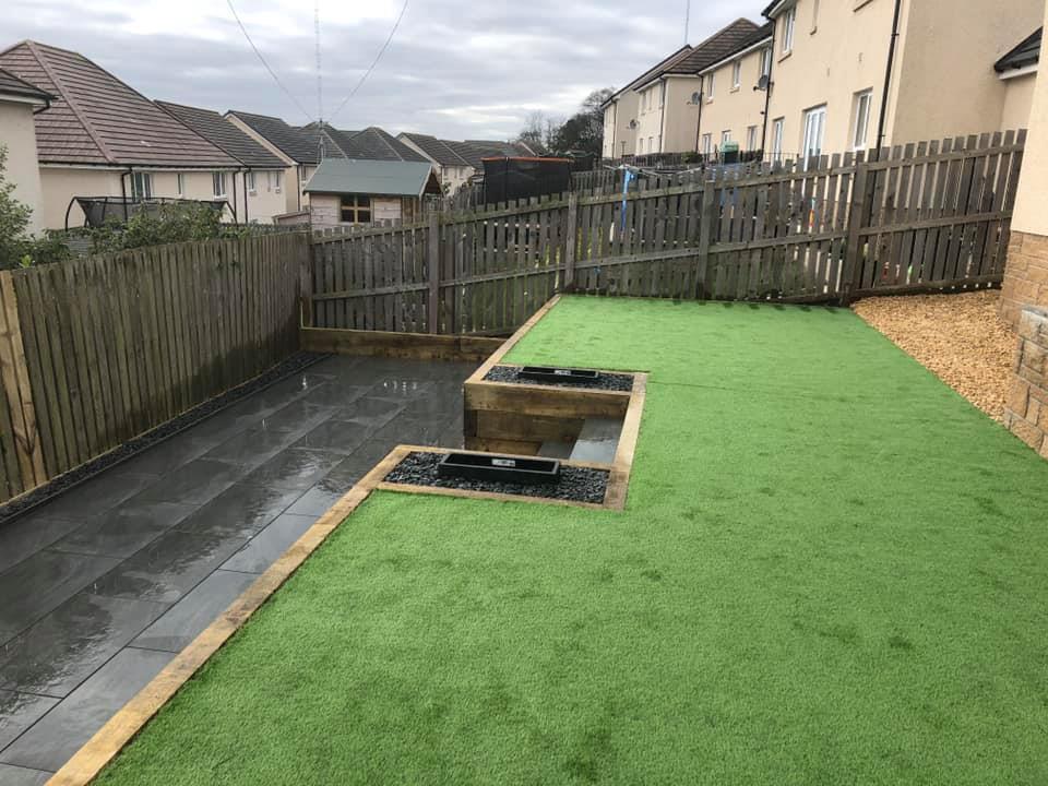 creating zones in a garden
